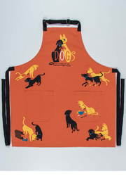 Blue Q Dogs apron - Front cropped