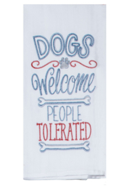 Kay Dee Designs Dogs Embroidered Dish Towel - Product Mini Image