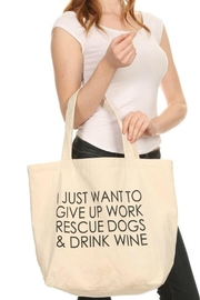 Imagine That Dogs&Wine Bag - Product Mini Image