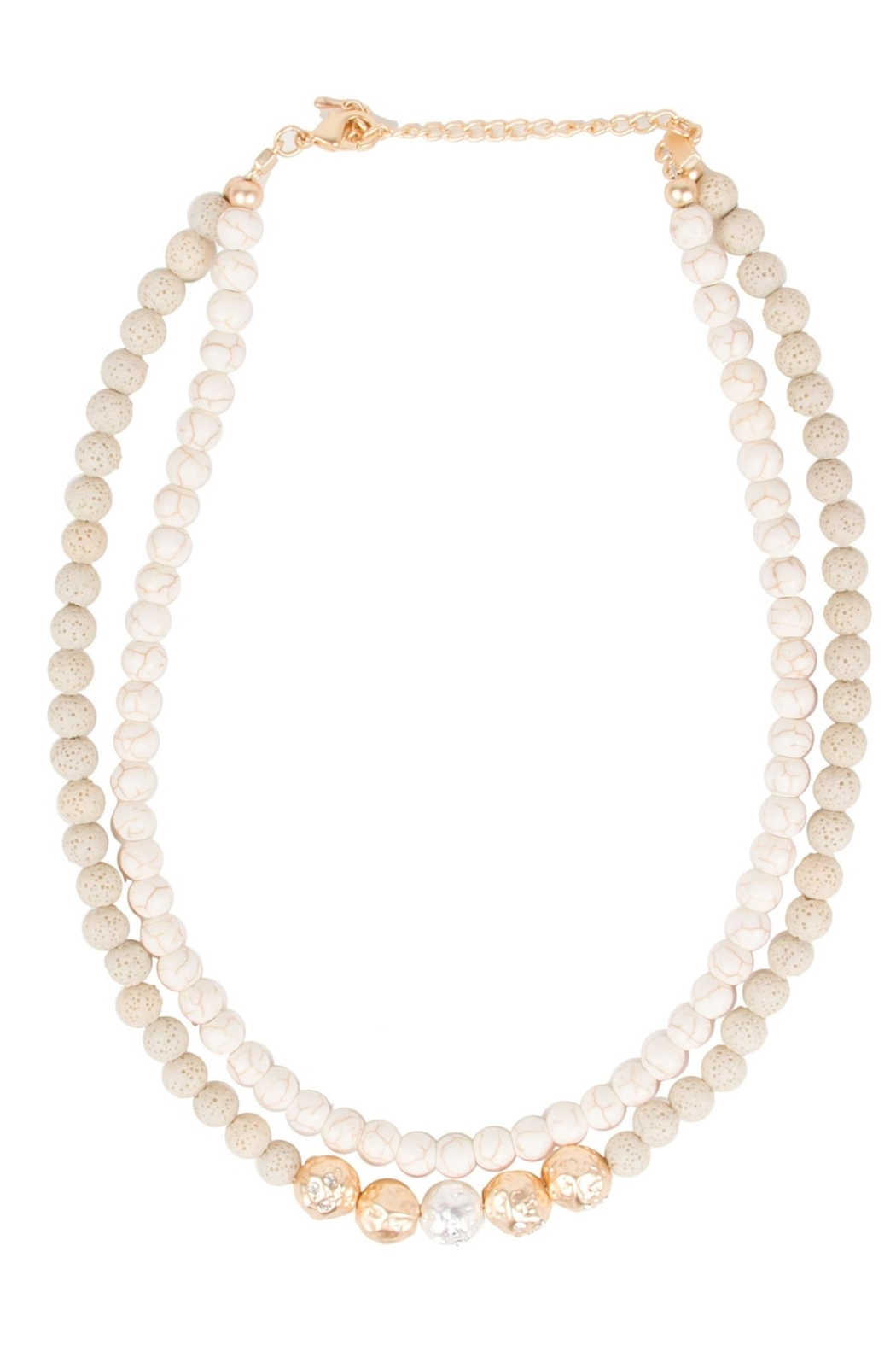 Saachi Dohara Beaded Necklace - Side Cropped Image