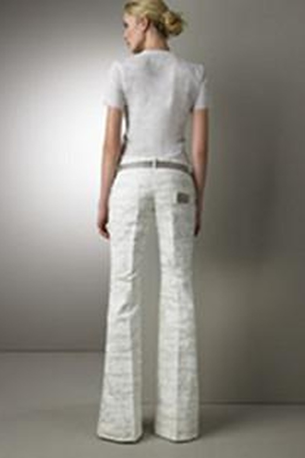 Dolce and Gabbana Wide Leg Pants - Front Full Image