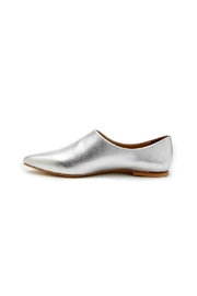 Coconuts by Matisse Dolce Flats Silver - Product Mini Image