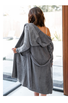 LITTLE GIRAFFE Dolce Hooded Robe - Product List Image