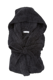 LITTLE GIRAFFE Dolce Hooded Robe - Front cropped