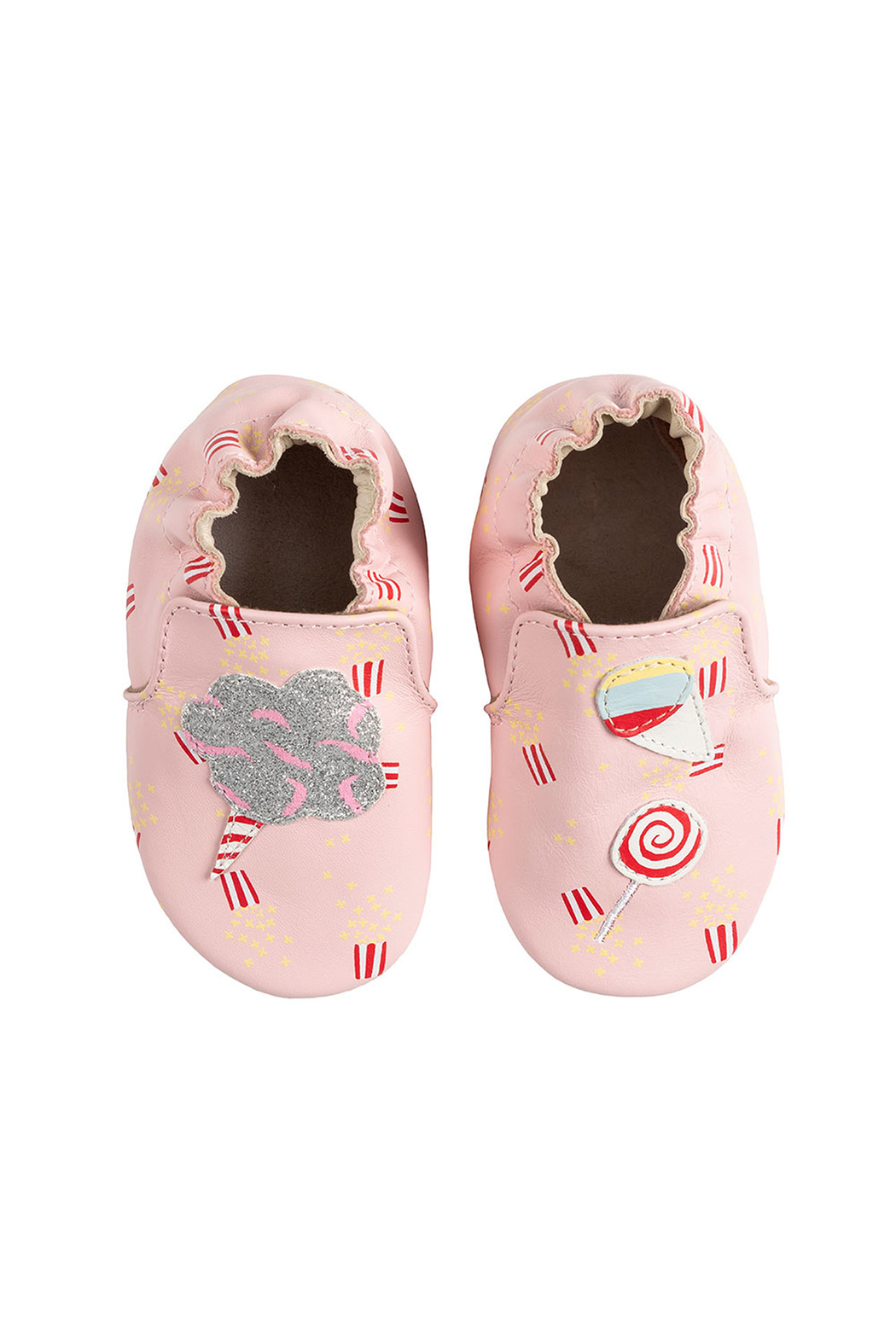 Robeez Dolce Soft Soles Baby Shoes - Front Full Image