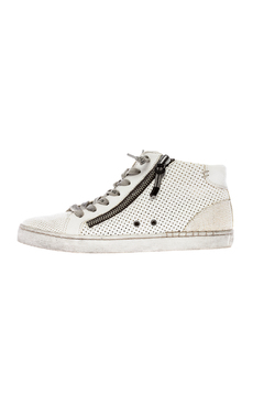 Dolce Vita White Zip-Up Sneaker - Product List Image