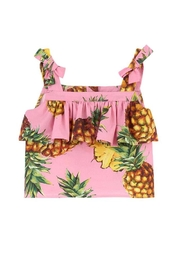Dolce & Gabbana Pineapple Print Top - Product Mini Image