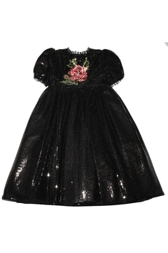 Dolce & Gabbana Sequin Rose Dress - Product List Image
