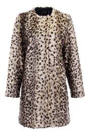 Dolce Cabo Faux Fur Coat - Front full body