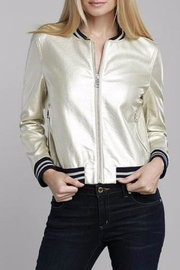Dolce Cabo Metallic Bomber - Product Mini Image