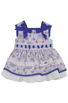 Dolce Petit Blue Dress & Nappy - Product List Image