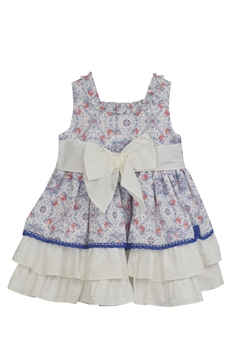 Dolce Petit Blue Roses Dress - Alternate List Image