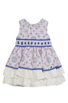 Dolce Petit Blue Roses Dress - Product List Image