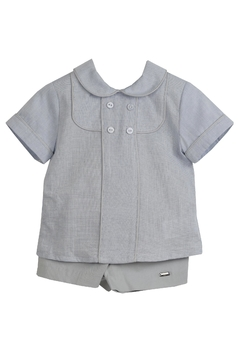 Dolce Petit Gray & Blue Outfit - Product List Image