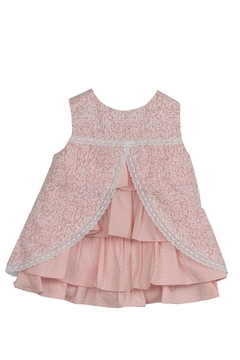 Dolce Petit Pink Dress & Nappy - Product List Image