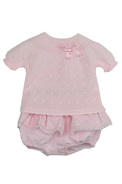 Dolce Petit Pink Flowers Outfit - Product List Image