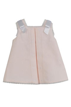 Dolce Petit Pink Pique Dress - Alternate List Image