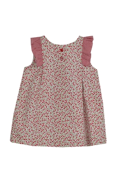 Dolce Petit Red Flower Dress - Product List Image