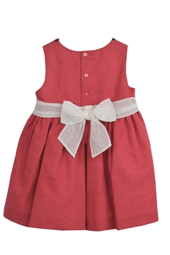 Dolce Petit Red & White Dress - Alternate List Image