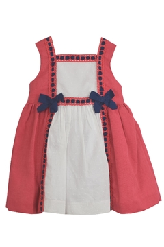 Dolce Petit Red & White Dress - Product List Image
