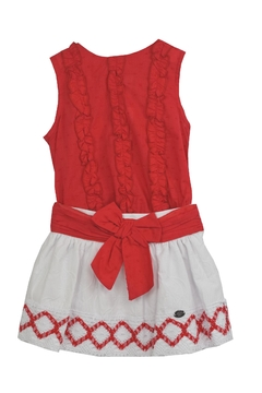 Dolce Petit Red White Outfit - Product List Image