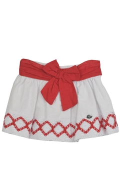 Dolce Petit Red White Outfit - Alternate List Image