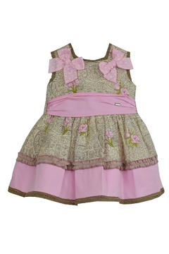 Dolce Petit Rose Dress & Nappy - Product List Image