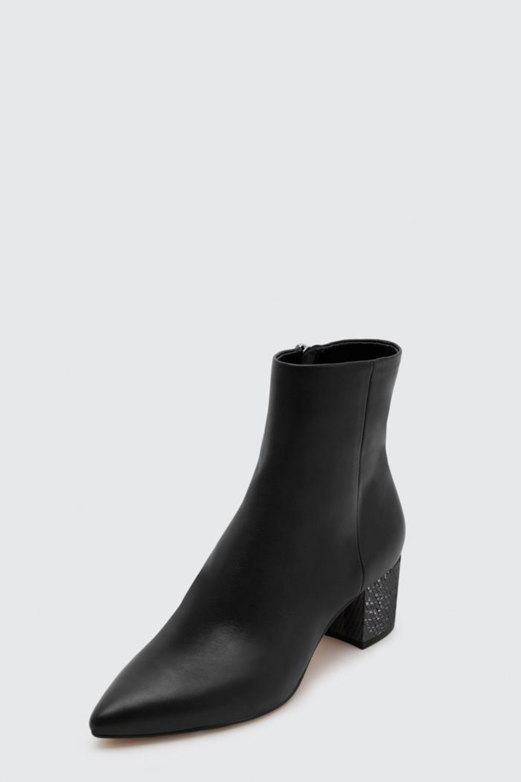 Dolce Vita Bel Booties Onyx - Front Full Image