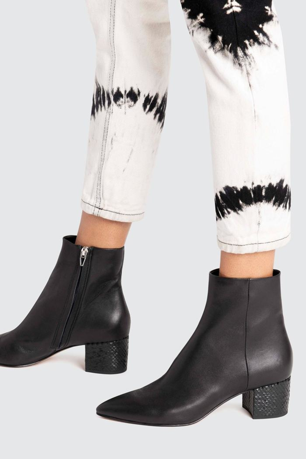 Dolce Vita Bel Booties Onyx - Side Cropped Image