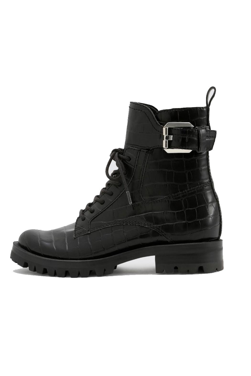 Dolce Vita Black Leather Boot - Main Image