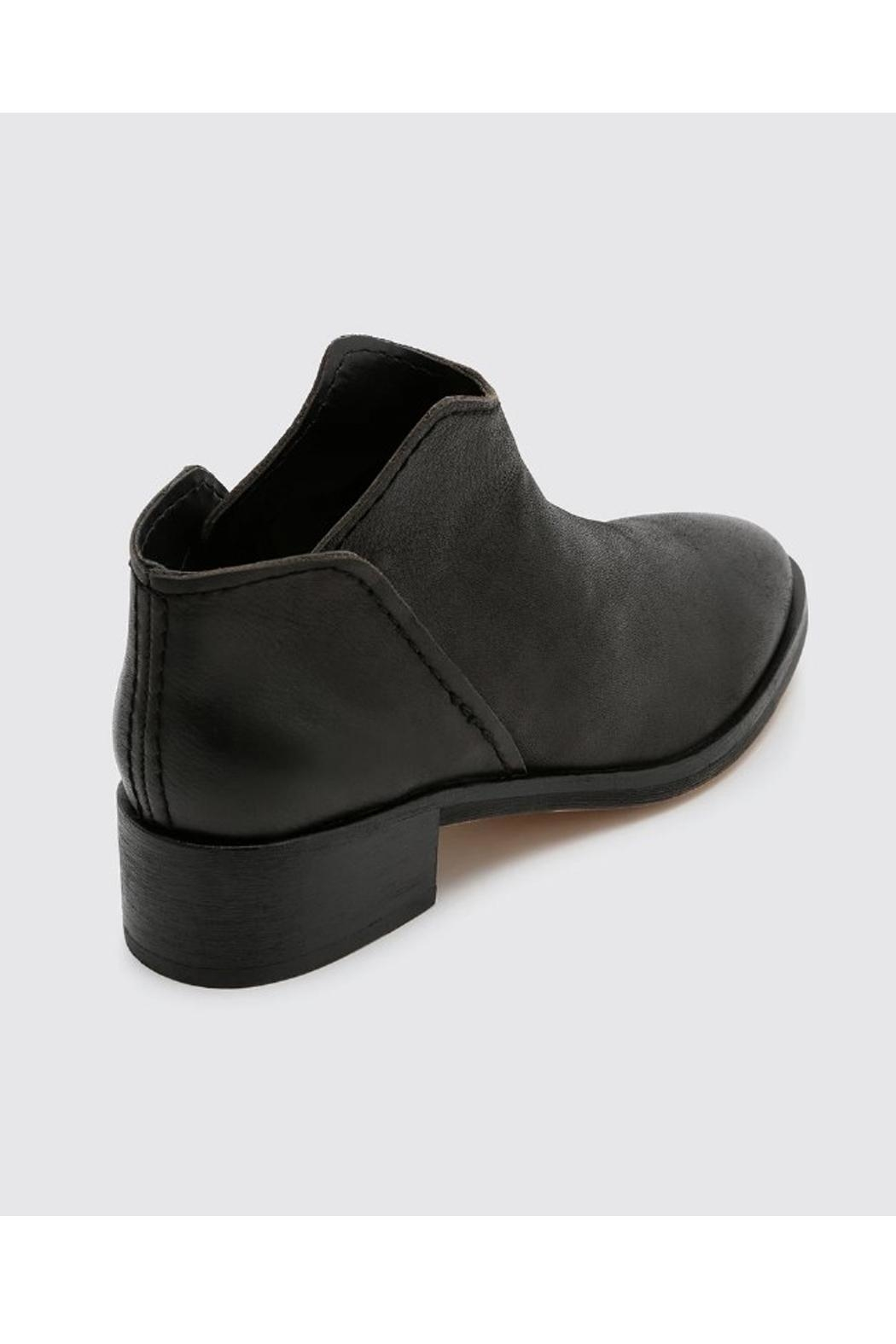 Dolce Vita Black Leather Bootie - Front Full Image