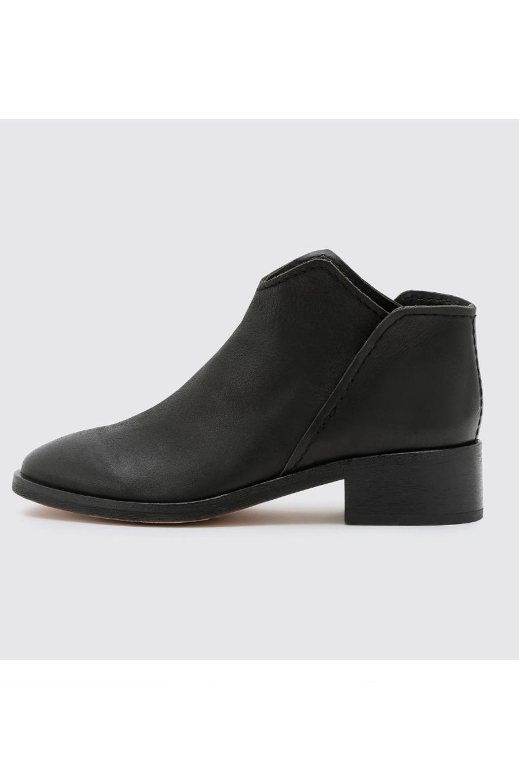 Dolce Vita Black Leather Bootie - Main Image