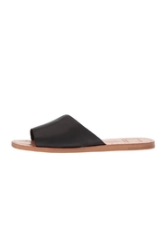 Dolce Vita Black Slide Sandal - Product Mini Image