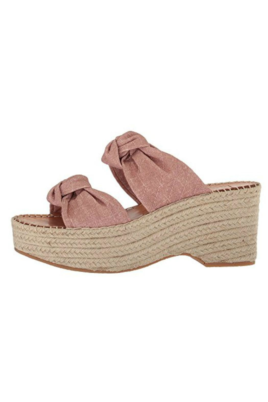 cb947db8b7982 Dolce Vita Blush Linen Espadrille from Pennsylvania by Well-Heeled ...