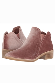 Dolce Vita Blush Velvet Booties - Product Mini Image