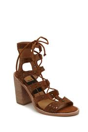 Dolce Vita Boho Lace-Up Heels - Front full body