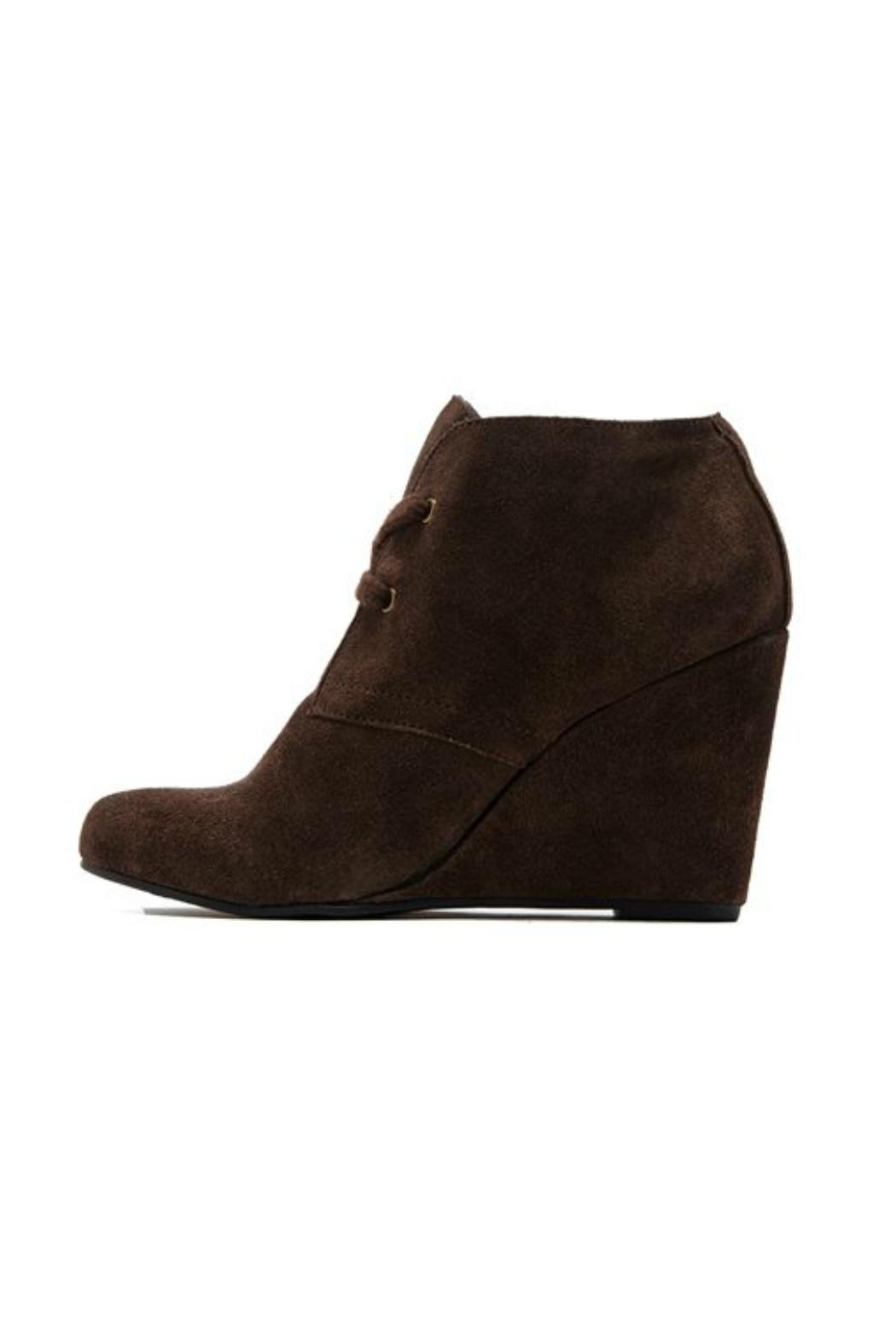 Dolce Vita Gardyn Wedge Bootie - Front Cropped Image