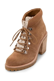 Dolce Vita Faux-Shearling Trimmed Bootie - Product Mini Image