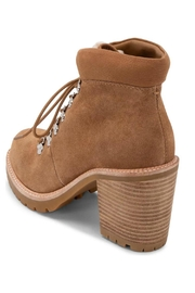 Dolce Vita Faux-Shearling Trimmed Bootie - Front full body
