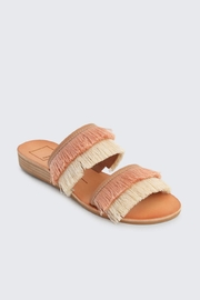 Dolce Vita Fringe Sandals - Front full body