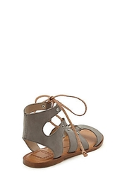 Dolce Vita Gray Gladiator Sandal - Back cropped