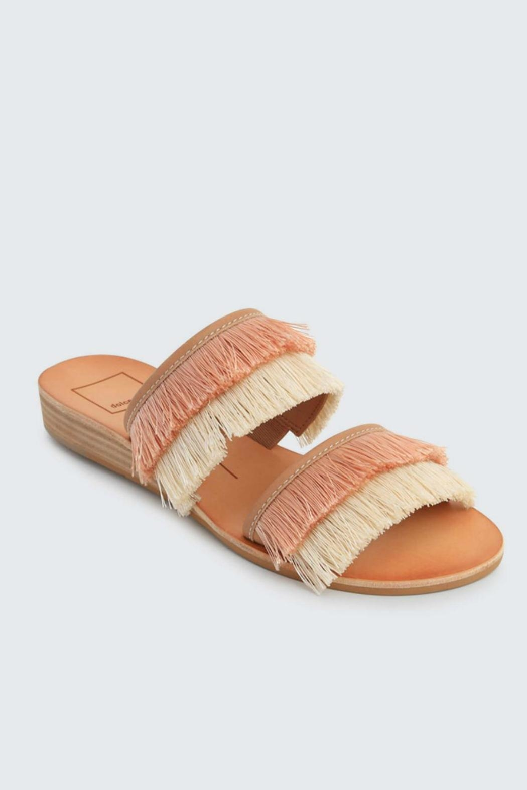 7a69c65dab96 Dolce Vita Haya Fringe Slide from Pennsylvania by Well-Heeled ...
