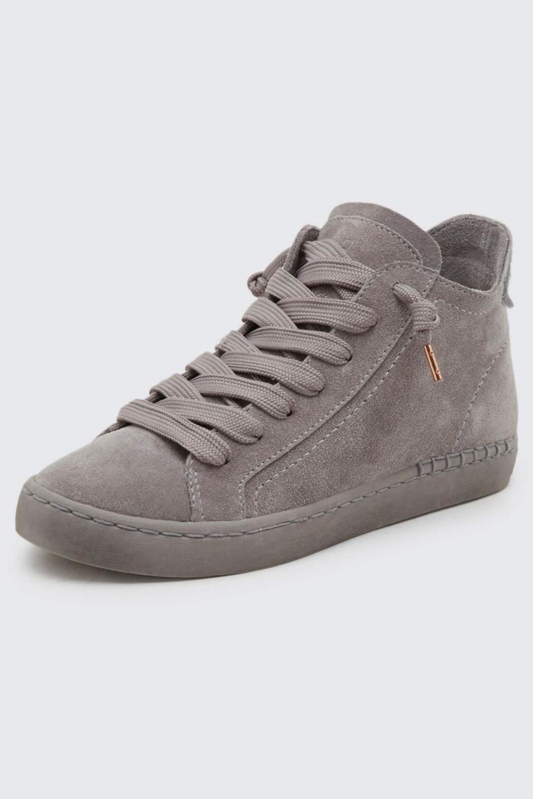 Dolce Vita High Suede Sneaker - Front Full Image