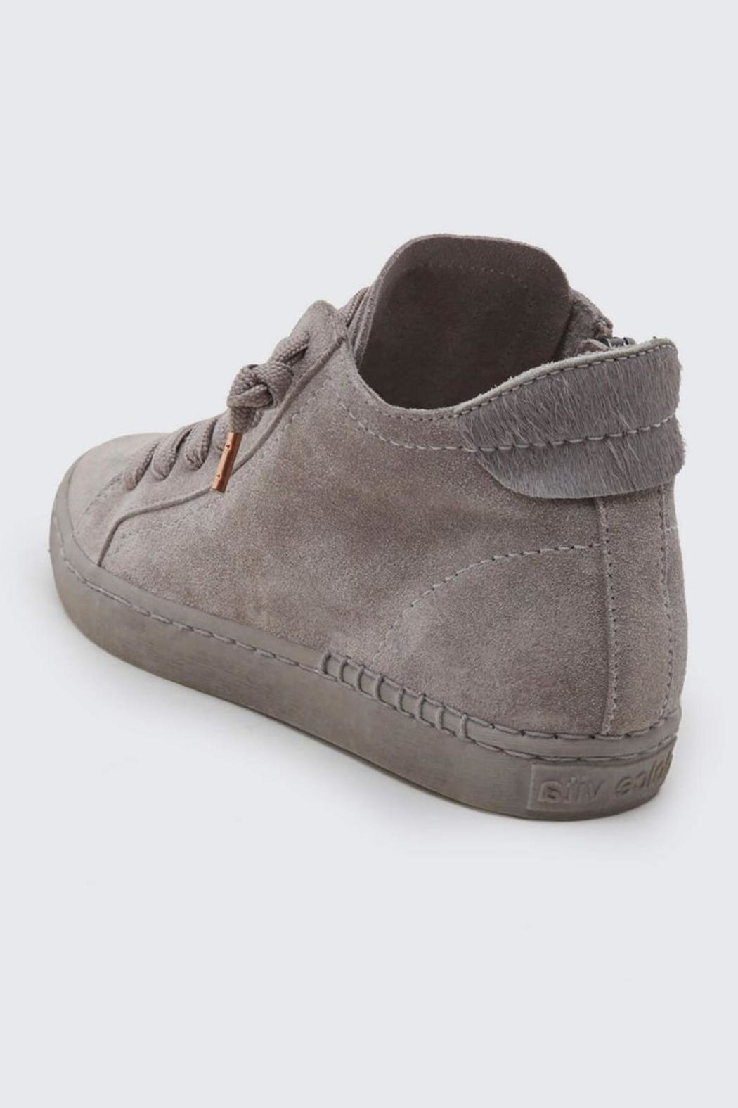 Dolce Vita High Suede Sneaker - Side Cropped Image