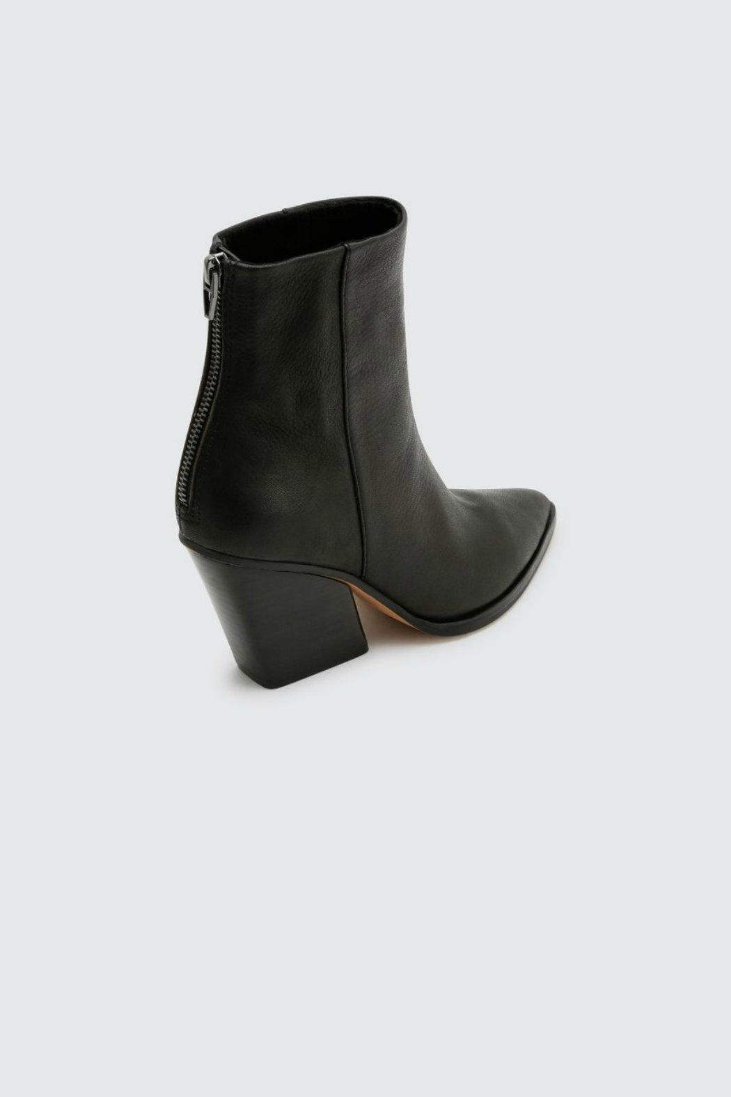 Dolce Vita Issa Wedge-Heel Boot - Back Cropped Image