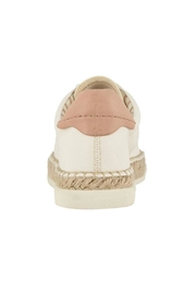 Dolce Vita Ivory Leather Sneakers - Front full body