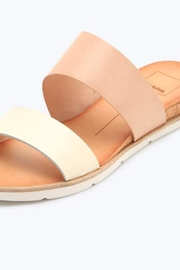 Dolce Vita Ivory Sandals - Front cropped