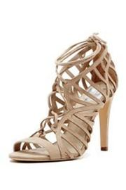 Dolce Vita Lace Up Heel - Front cropped