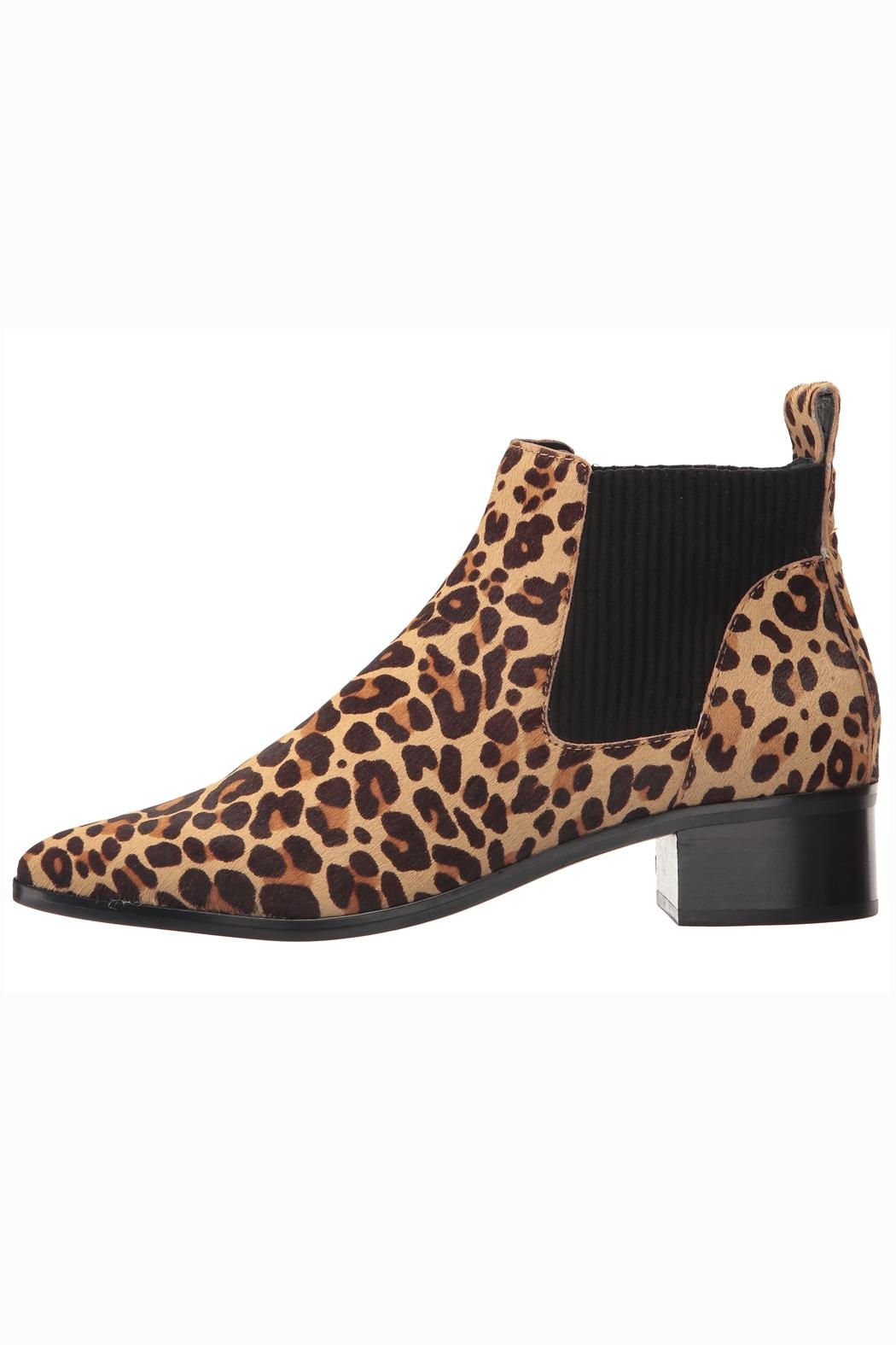 Dolce Vita Leopard Booties - Side Cropped Image