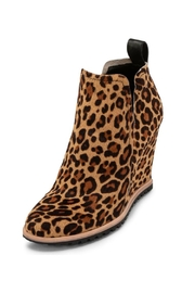 Dolce Vita Leopard Calf-Hair Bootie - Product Mini Image